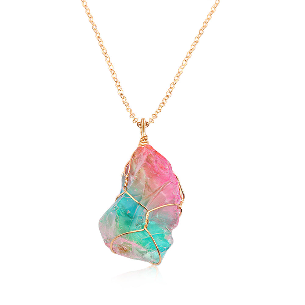 Our World Famous: 'Stellar Supernova' - Crystal Necklace