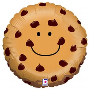 B123-47883-21'' Chocolate Chip Cookie -Non-Pkg foil balloon-Occasions