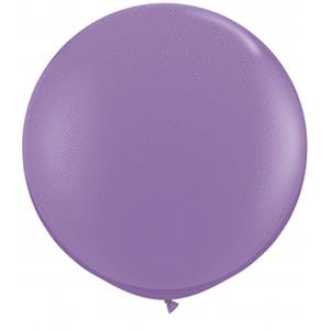 B123-52125-(2ct) 36 Inch Latex Spring Lilac-Solid Color Balloons