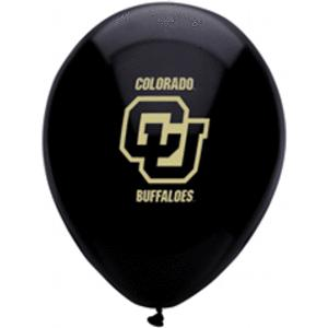 B123-52988-(10ct) 11'' University of Colorado Latex Balloon-Occasions