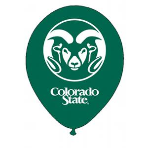 B123-52995-(10ct) 11'' Colorado State Latex Balloon-Occasions