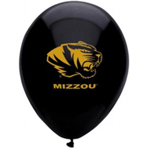 B123-53065-(10ct) 11'' University of Missouri Latex Balloon-Occasions
