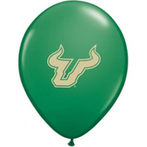B123-53095-(10ct) 11'' University of South Florida - Latex Balloon-Occasions