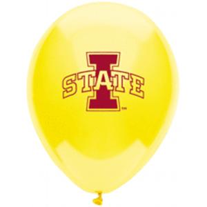 B123-53116-(10ct) 11'' Iowa State Latex Balloon-Occasions