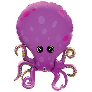 B123-55343-35'' Amazing Octopus Shape- Foil Balloon-Shop by Theme