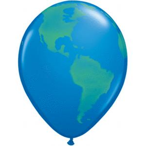 B123-56203-(50ct) 11'' Globe Latex Balloon - Dark Blue-Shop by Theme