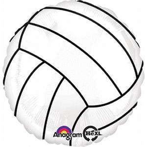 B123-65379-(5ct) Championship Volleyball -Non-Pkg foil balloon-Occasions