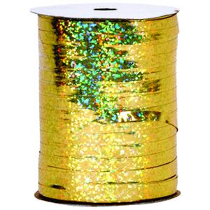 B123-70239-3/16X100Yd Ribbon - Gold-Balloon Accessories