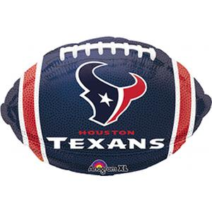 B123-74542-Houston Texans -Non-Pkg foil balloon-Occasions