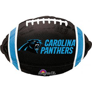 B123-74547-Carolina Panthers -Non-Pkg foil balloon-Occasions