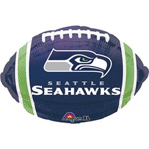 B123-74564-Seattle Seahawks -Non-Pkg foil balloon-Occasions