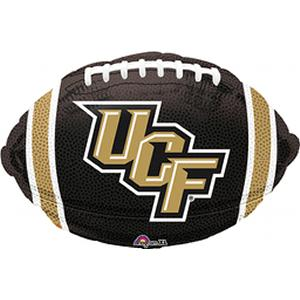 "B123-75058-(5ct) 18"" Central-Florida Football -Non-Pkg foil balloon-Occasions"