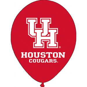 "B123-75277-(10ct) 11"" University of Houston Latex Balloon-Occasions"