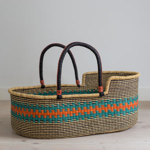 KINGFISHER moses basket [shipping by mid May]