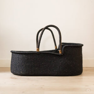 ALL BLACK Moses basket [shipping by mid November]