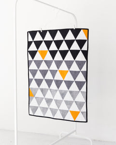 Monochrome & Orange Play Mat