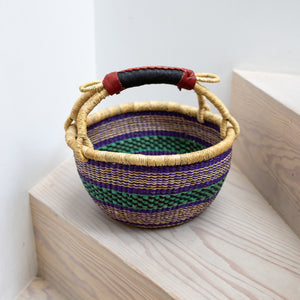 COLOURFUL Wee Bosie Basket - 10 inch diameter (5)