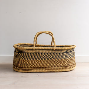 VEGAN OWL - moses basket [shipping by mid May]