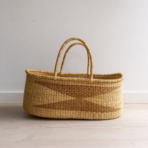 VEGAN OSPREY - moses basket [shipping mid Sept]