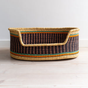 Pet Basket - Medium - CHAMELEON (ii) [shipping by mid May]