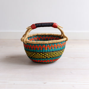 COLOURFUL Wee Bosie Basket - 10 inch diameter (2)