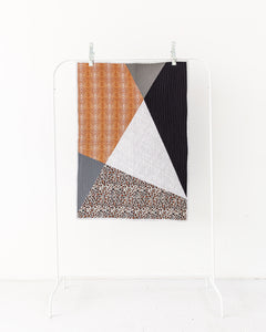 Geometric Animal Print Play Mat