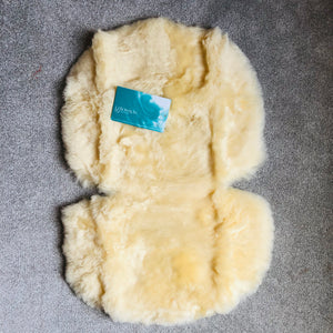 One Piece Sheepskin Pram Liner Oval