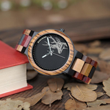 Color Me Bad- Wooden Watch - Exclusive Square