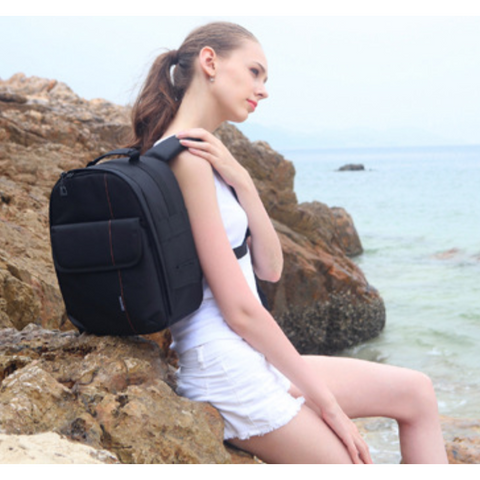 Multi-Functional Padded Backpack - Exclusive Square