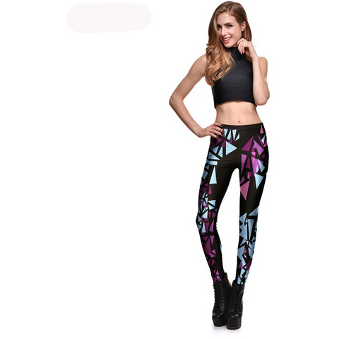 Irregular Triangles Leggings - Exclusive Square