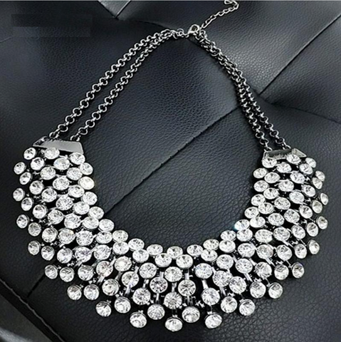 Bohemia Crystal Luxury Necklace - Exclusive Square