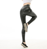 DeluxeGothic™ Push Up Leather Leggings - Exclusive Square