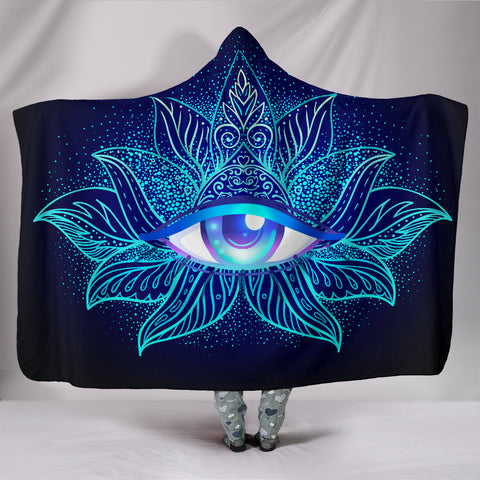 Deluxe Third Eye Hooded Blanket - Exclusive Square
