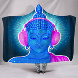 DJ Zen Buddha Hooded Blanket - Exclusive Square