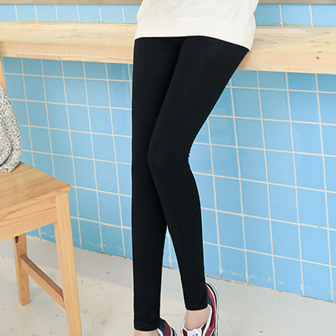Elastic Casual Leggings - Exclusive Square