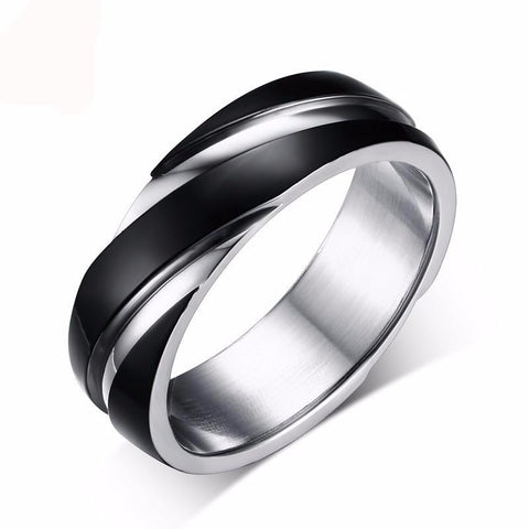 Mystery Stainless Steel Ring for Men - Exclusive Square