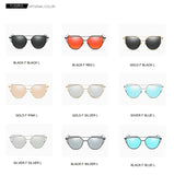 Flat Kitty Eye Sunglasses - Exclusive Square