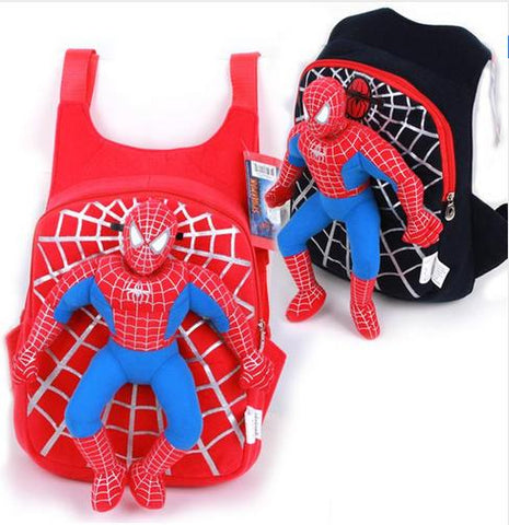 Deluxe 3D Spiderman Backpack - Exclusive Square