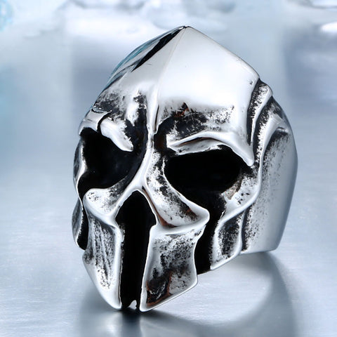 Big Biker Skull Ring For Men - Exclusive Square