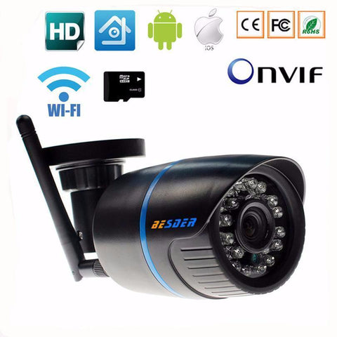 Internet Protocol CCTV Outdoor Camera - Exclusive Square