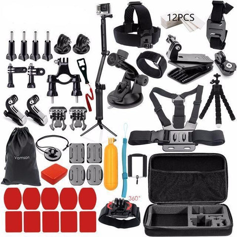 Action Camera Accessories Kits - Exclusive Square