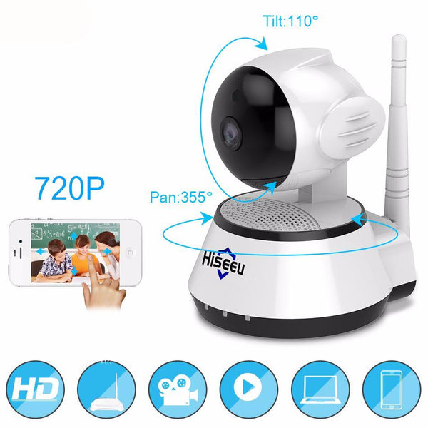 Smart WiFI Home Security IP Camera (HD) - Exclusive Square