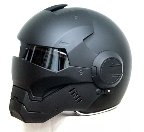 Disruptive Iron Hero Motorcycle Helmet - Exclusive Square