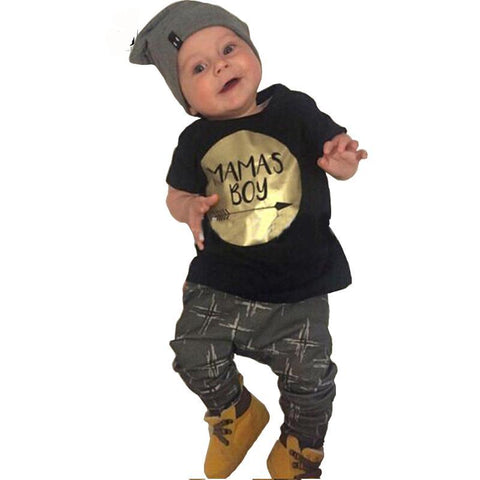 Baby Unisex Disruptive 2-Piece Outfit - Exclusive Square
