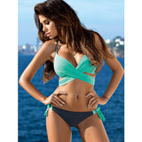 Deluxe Daisy™ Push Up Criss Cross Bikini - Exclusive Square