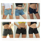 DeluxeChic™ Push Up Denim Shorts - Exclusive Square