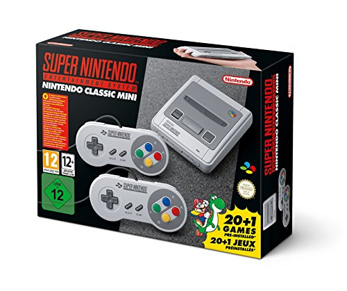 SNES Nintendo Classic Mini: Super Nintendo Entertainment System (Europe), Not Region Locked