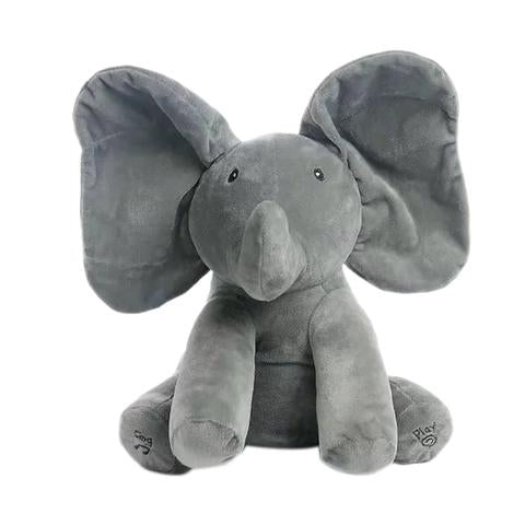 Play Peek A Boo and Sing Do Your Ears Hang Low Elephant