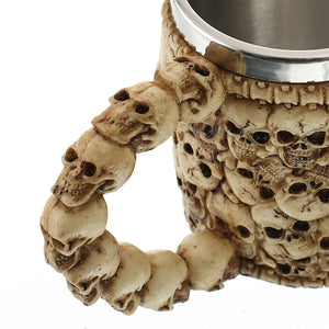 """Bad To The Bone"" Skull Mug! (FREE SHIPPING)"