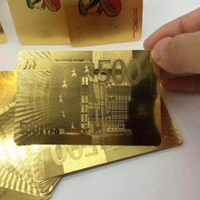 24k Gold Foil Playing Cards!